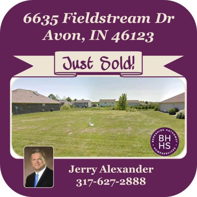 6635 Fieldstream Dr, Avon - SOLD